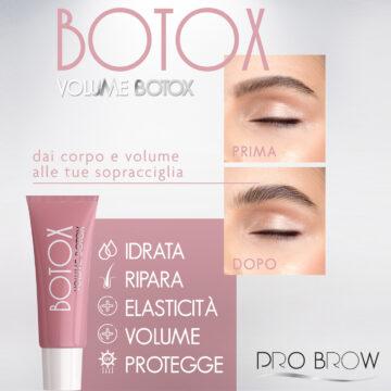 Volume Botox effetto laminazione per Sopracciglia!